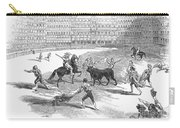 Madrid: Bullfight, 1846 Carry-all Pouch