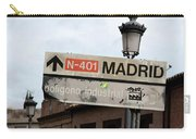 Madrid Street Sign Carry-all Pouch