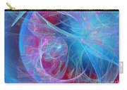 Magenta Blue Carry-all Pouch