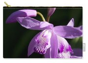 Magenta Hardy Chinese Orchids - Bletilla Carry-all Pouch