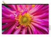 Magenta Petals Carry-all Pouch