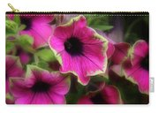 Magenta Petunia Carry-all Pouch