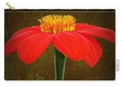 Magenta Zinnia Flower Carry-all Pouch