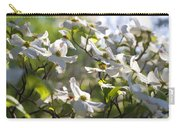 Magical White Flowering Dogwood Blossoms Carry-all Pouch
