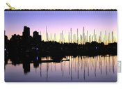 Magnificent Vancouver Sunset Carry-all Pouch by Will Borden