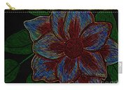Magnolia Abstract Sketch Carry-all Pouch