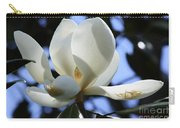 Magnolia In Blue Carry-all Pouch