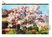 Magnolia Near Green House Carry-all Pouch