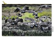 Magpie Geese In Flight Mcminn Lagoon Carry-all Pouch