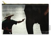Mahut With Elephant Carry-all Pouch