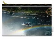 Maid Of The Mist And Rainbow At Niagara Falls Carry-all Pouch