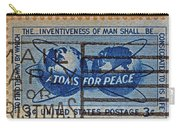 Mail Early For Christmas And Peace Carry-all Pouch