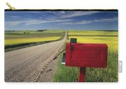 Mailbox On Country Road, Tiger Hills Carry-all Pouch