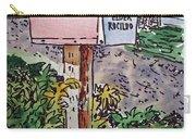 Mailbox Sketchbook Project Down My Street Carry-all Pouch by Irina Sztukowski