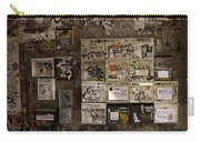 Mailboxes With Graffiti Carry-all Pouch by RicardMN Photography