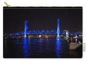 Main Street Bridge At Night Carry-all Pouch