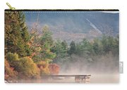 maine 26 Baxter State Park Mt. Khatadin Morning Mist on Daicey Pond Carry-all Pouch