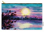 Maine October Sunset Carry-all Pouch