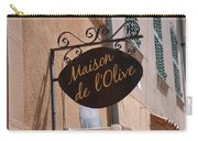 Maison De L'olive Carry-all Pouch
