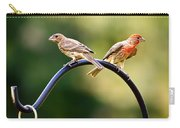 Male And Female House Finch Carry-all Pouch