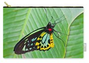 Male Cairns-birdwing Butterfly Carry-all Pouch
