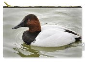 Male Canvasback Duck  Carry-all Pouch