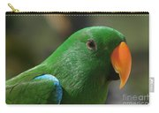 Male Eclectus Parrot Carry-all Pouch