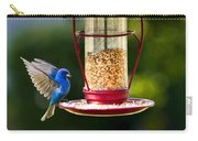 Male Indigo Bunting Carry-all Pouch