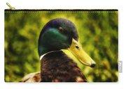 Male Mallard Duck Carry-all Pouch