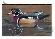Male Wood Duck Carry-all Pouch