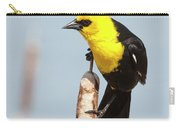 Male Yellow-headed Blackbird Carry-all Pouch