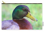 Mallard Drake In Shade Carry-all Pouch