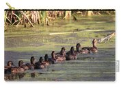 Mallard Ducks In A Row Carry-all Pouch