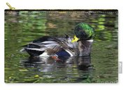 Mallard Preening Hdr Carry-all Pouch