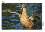 Mallard Wave Carry-all Pouch