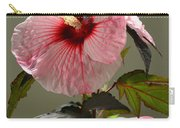 Mallow Hibiscus Carry-all Pouch
