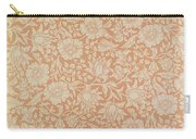 Mallow Wallpaper Design Carry-all Pouch by William Morris