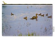 Mama Duck And The Kiddies Carry-all Pouch