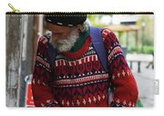 Man In A Red Sweater Carry-all Pouch