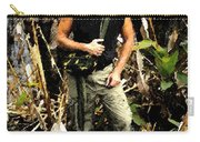 Man In The Wilderness Carry-all Pouch