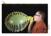 Man Over-inflating Balloon Carry-all Pouch