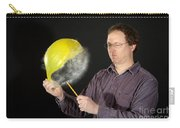 Man Popping A Balloon Carry-all Pouch