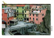 Manarola Houses On The Cinque Terre II Carry-all Pouch