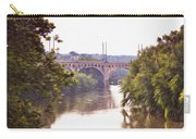 Manayunk Bridge Along The Schuylkill River Carry-all Pouch