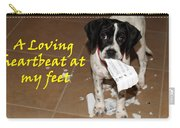 Mancha - A Loving Heartbeat Carry-all Pouch