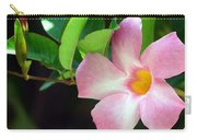 Mandevilla Pink Carry-all Pouch