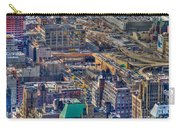 Manhattan Lincoln Tunnel Entrance Carry-all Pouch