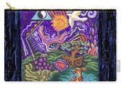 Manifest Destiny Carry-all Pouch by Genevieve Esson