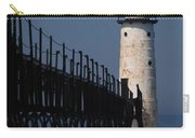 Manistee Harbor Lighthouse And Cat Walk Carry-all Pouch