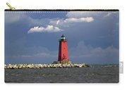 Manistique Lighthouse In Michigan's Upper Peninsula Carry-all Pouch